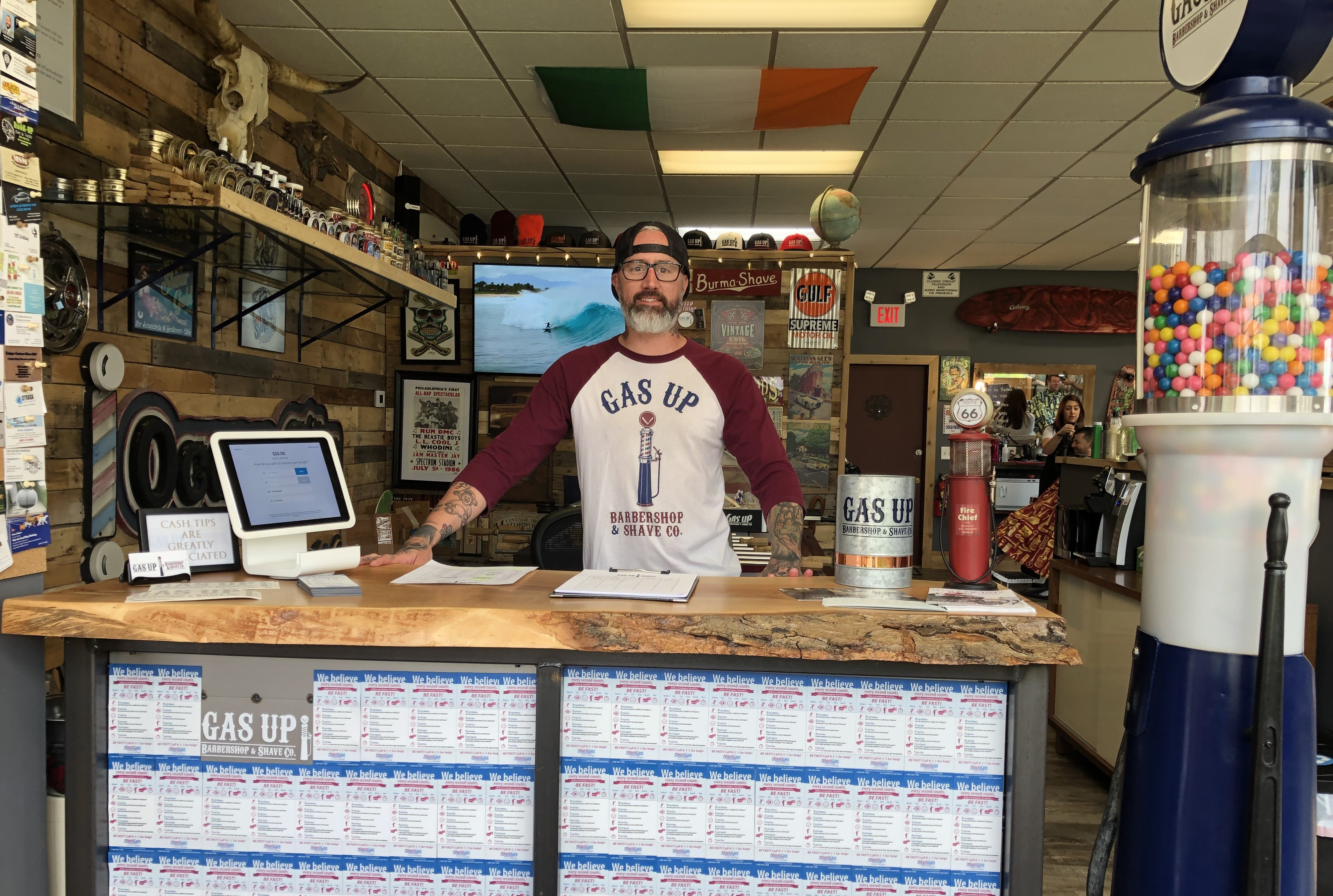 Barbershop helps AtlantiCare diffuse message about dialing